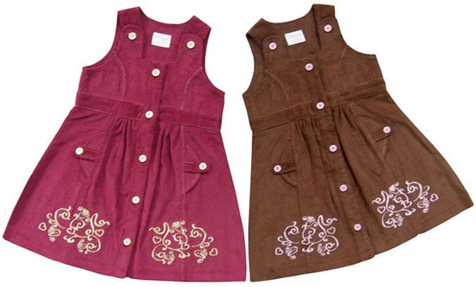 Трикотажные детские платья - выбираем по правилам