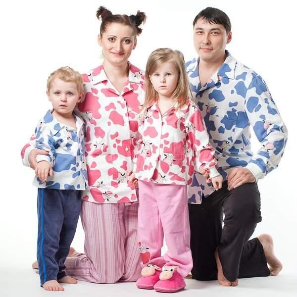 трикотаж для всей семьи